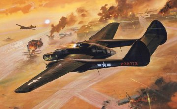 Northrop P-61 Black Widow · AX 04006V ·  Airfix · 1:72