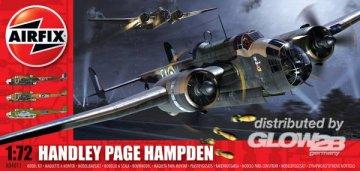 Handley Page Hampden (neu 2010) · AX 04011 ·  Airfix · 1:72