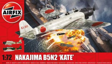 Nakajima B5N2 Kate · AX 04058 ·  Airfix · 1:72