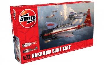 Nakajima B5N1 Kate · AX 04060 ·  Airfix · 1:72