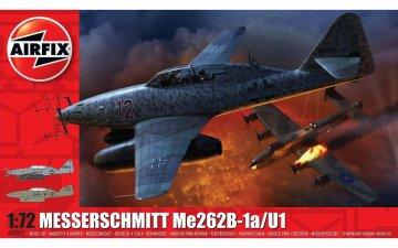 Messerschmitt Me 262 B1a · AX 04062 ·  Airfix · 1:72
