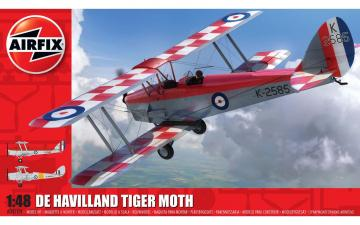 de Havilland DH82a Tiger Moth · AX 04104 ·  Airfix · 1:48
