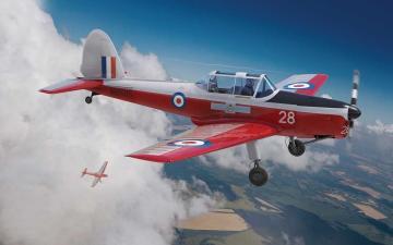 de Havilland Chipmunk T.10 · AX 04105 ·  Airfix · 1:48