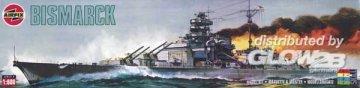 Schlachtschiff Bismarck · AX 04204 ·  Airfix · 1:600