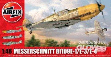Messerschmitt 109E · AX 05120 ·  Airfix · 1:48