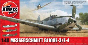 Messerschmitt Me 109 E-4/E-1 · AX 05120B ·  Airfix · 1:48