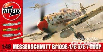 Messerschmitt 109E Tropical · AX 05122 ·  Airfix · 1:48
