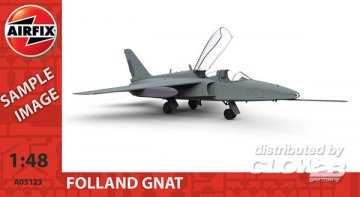 Folland Gnat · AX 05123 ·  Airfix · 1:48