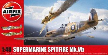 Supermarine Spitfire MkVB · AX 05125 ·  Airfix · 1:48