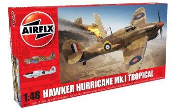 Hawker Hurricane Mk1 - Tropical · AX 05129 ·  Airfix · 1:48