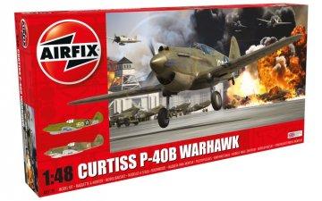Curtiss P-40B Warhawk · AX 05130 ·  Airfix · 1:48