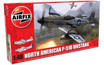 North American P-51-D Mustang · AX 05131 ·  Airfix · 1:48