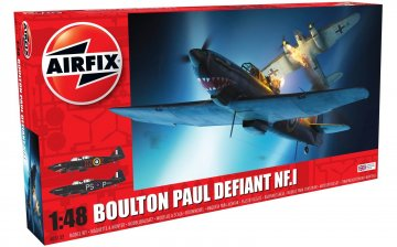 Boulton Paul Defiant NF.1 · AX 05132 ·  Airfix · 1:48