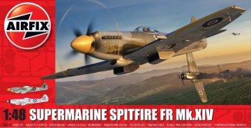 Supermarine Spitfire XIV · AX 05135 ·  Airfix · 1:48