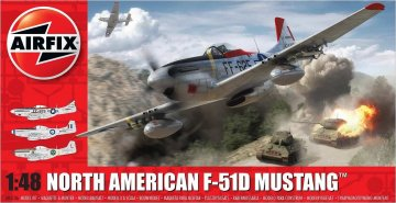 North American F51D Mustang · AX 05136 ·  Airfix · 1:48