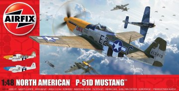 North American P51-D Mustang (Filletless Tails) · AX 05138 ·  Airfix · 1:48