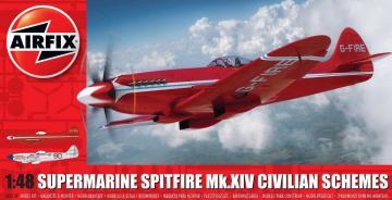 Supermarine Spitfire MkXIV - Race Schemes · AX 05139 ·  Airfix · 1:48