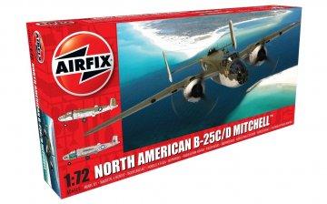 North American B25C/D Mitchell · AX 06015 ·  Airfix · 1:72