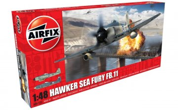 Hawker Sea Fury FB.II · AX 06105 ·  Airfix · 1:48