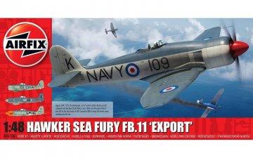 Hawker Sea Fury FB.II Export Edition · AX 06106 ·  Airfix · 1:48