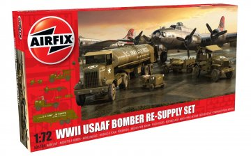 USAAF 8TH Airforce Bomber Resupply Set · AX 06304 ·  Airfix · 1:72