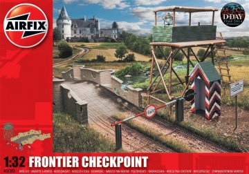Frontier Checkpoint · AX 06383 ·  Airfix · 1:32