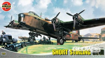 Short Stirling BI/II · AX 07002 ·  Airfix · 1:72
