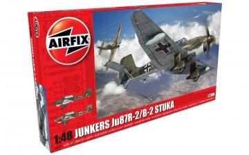 Junkers Ju 87 B-2/R-2 · AX 07115 ·  Airfix · 1:48