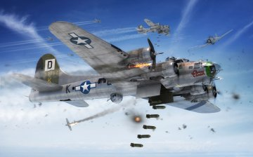 Boeing B-17G Flying Fortress · AX 08017 ·  Airfix · 1:72