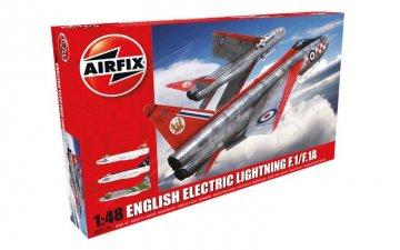 English Electric Lightning F1/F1A/F2/F3 · AX 09179 ·  Airfix · 1:48