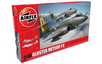Gloster Meteor F8 · AX 09182 ·  Airfix · 1:48