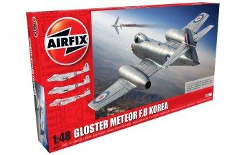 Gloster Meteor F8,Korean War · AX 09184 ·  Airfix · 1:48