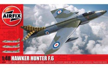 Hawker Hunter F6 · AX 09185 ·  Airfix · 1:48