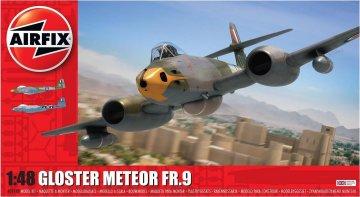 Gloster Meteor FR9 · AX 09188 ·  Airfix · 1:48