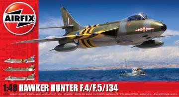 Hawker Hunter F4 · AX 09189 ·  Airfix · 1:48