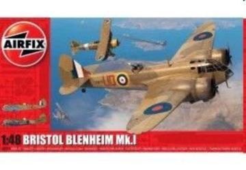 Bristol Blenheim Mk.I · AX 09190 ·  Airfix · 1:48