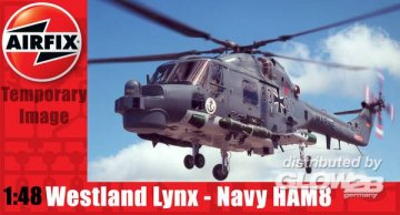 Westland Lynx Navy HAMA8 Super Lynx · AX 10107 ·  Airfix · 1:48