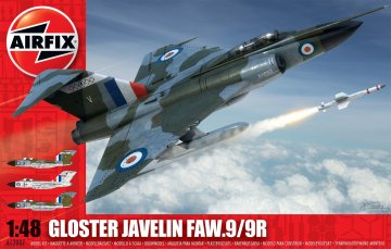 Gloster Javelin FAW9/9R · AX 12007 ·  Airfix · 1:48