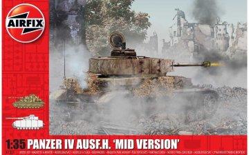Panzer IV Ausf.H Mid Version · AX 1351 ·  Airfix · 1:35