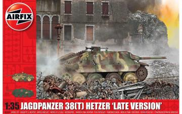 Jagdpanzer 38t Hetzer Late Version · AX 1353 ·  Airfix · 1:35