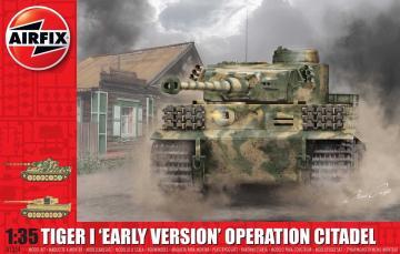 Tiger 1 - Early Version - Operation Citadel · AX 1354 ·  Airfix · 1:35