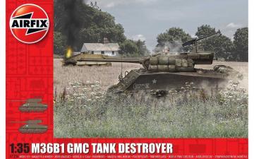 M36B1 GMC (U.S. Army) · AX 1356 ·  Airfix · 1:35
