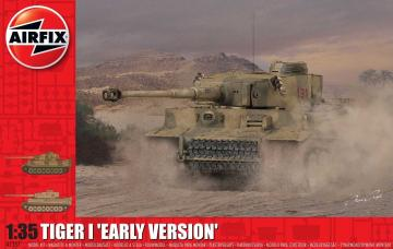 Tiger 1 Early Production Version · AX 1357 ·  Airfix · 1:35