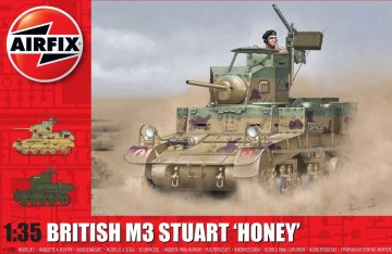 M3 Stuart Honey (British Version) · AX 1358 ·  Airfix · 1:35