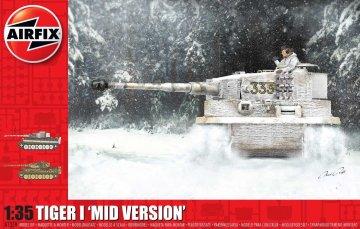 Tiger 1 - Mid Version · AX 1359 ·  Airfix · 1:35