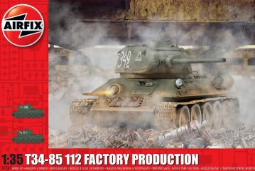 T34/85 II2 Factory Production · AX 1361 ·  Airfix · 1:35