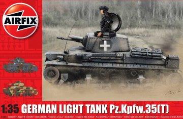 German Light Tank Pz.Kpfw.35 (t) · AX 1362 ·  Airfix · 1:35