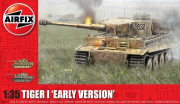 Tiger 1 - Early Version · AX 1363 ·  Airfix · 1:35