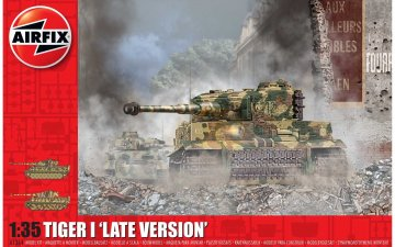 Tiger 1 - Late Version · AX 1364 ·  Airfix · 1:35