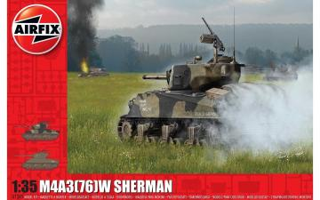 M4A3(76)W Battle of the Bulge · AX 1365 ·  Airfix · 1:35